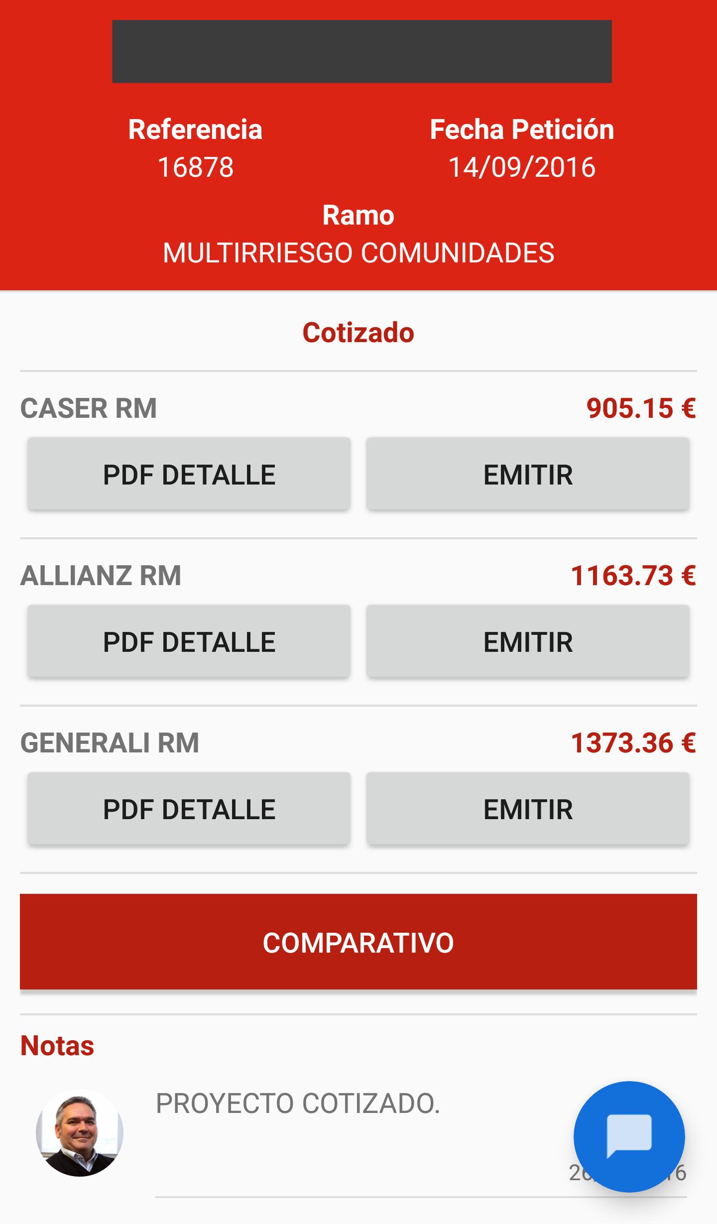 Aplicacion Android Brokalia Proyectos