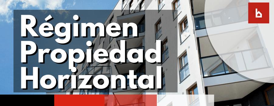 regimen propiedad horizontal