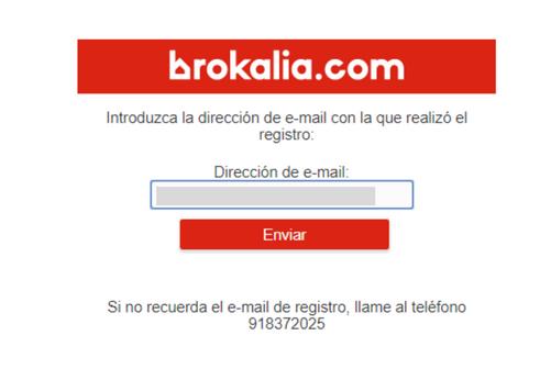 Introduzca email