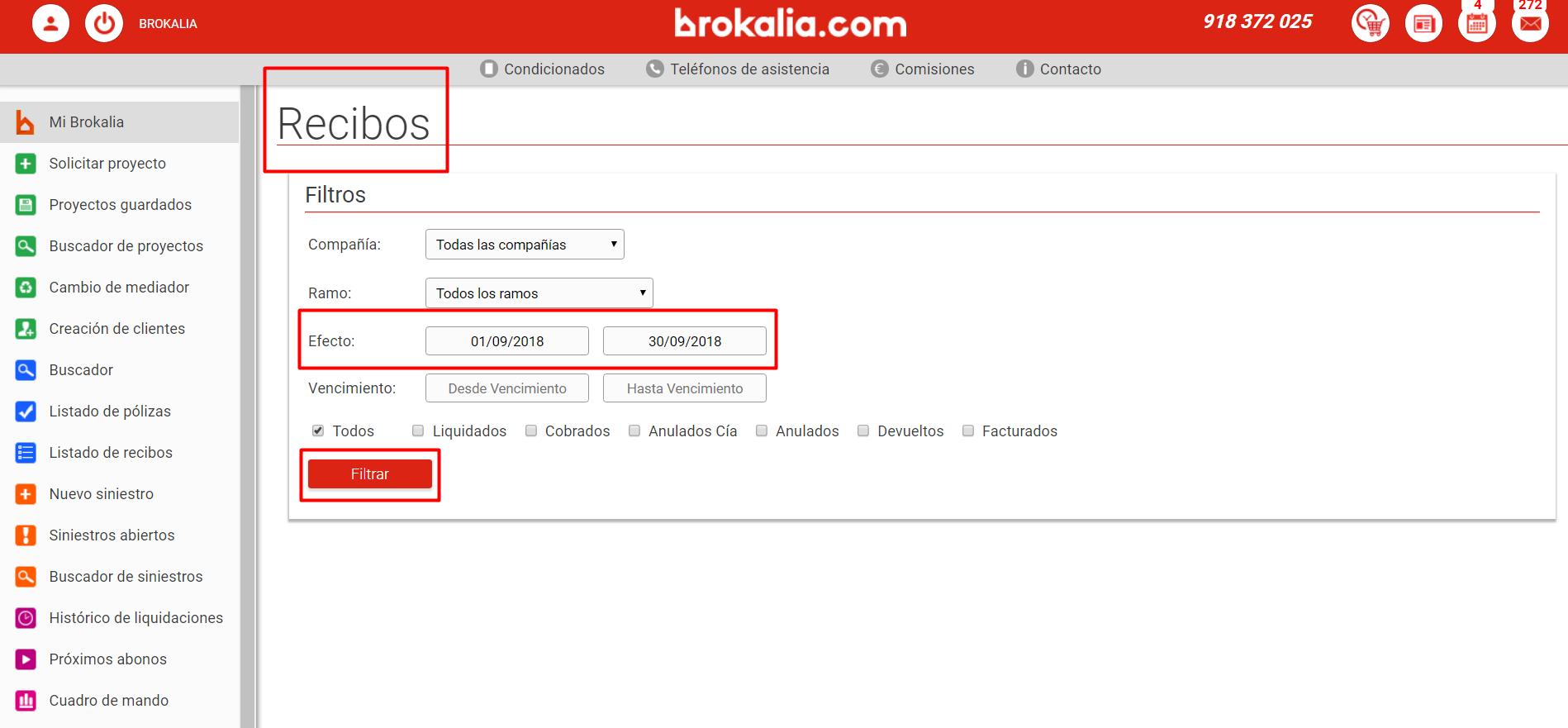 Brokalia-Recibo