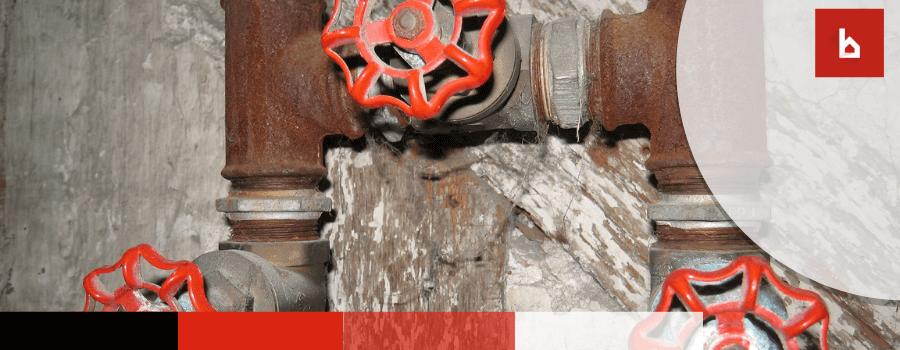 corrosion en los seguros de las comunidades de vecinos