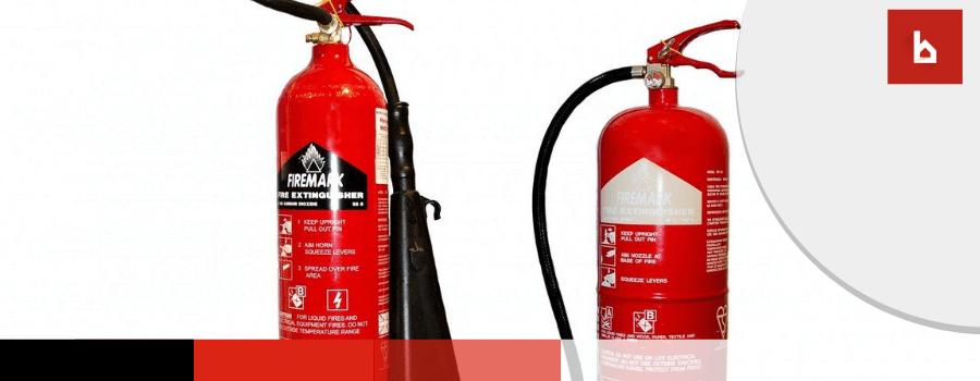extintores en la comunidad de propietarios